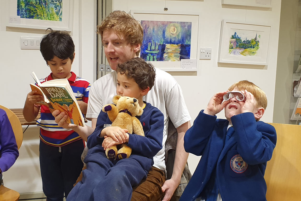 Boys Reading Danny The Champion of the World
